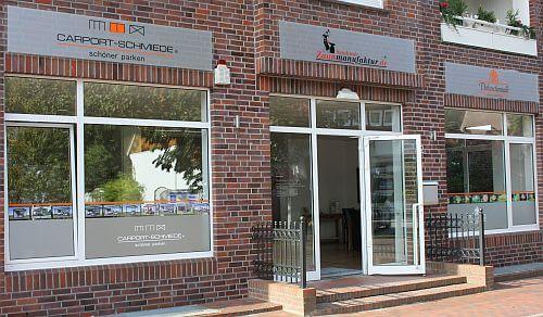 Carport-Schmiede Büro - Bad Zwischenahn