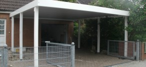 Stahlcarport / Metallcarport Referenz 17-1