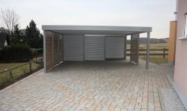 Stahlcarport / Metallcarport Referenz_13
