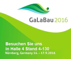 GaLaBau 2016 - wir sind dabei!