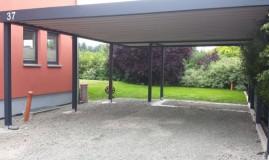 Stahlcarport / Metallcarport Referenz 4-1