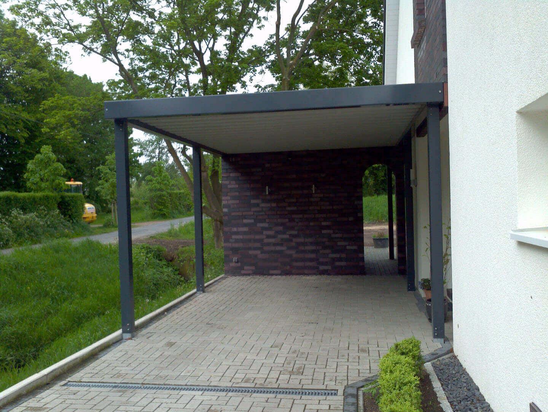 Stahlcarport / Metallcarport Referenz_11-3