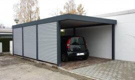 Stahlcarport / Metallcarport Referenz_20-1