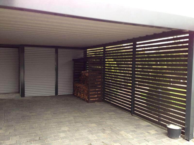 Stahlcarport / Metallcarport Referenz 16-1