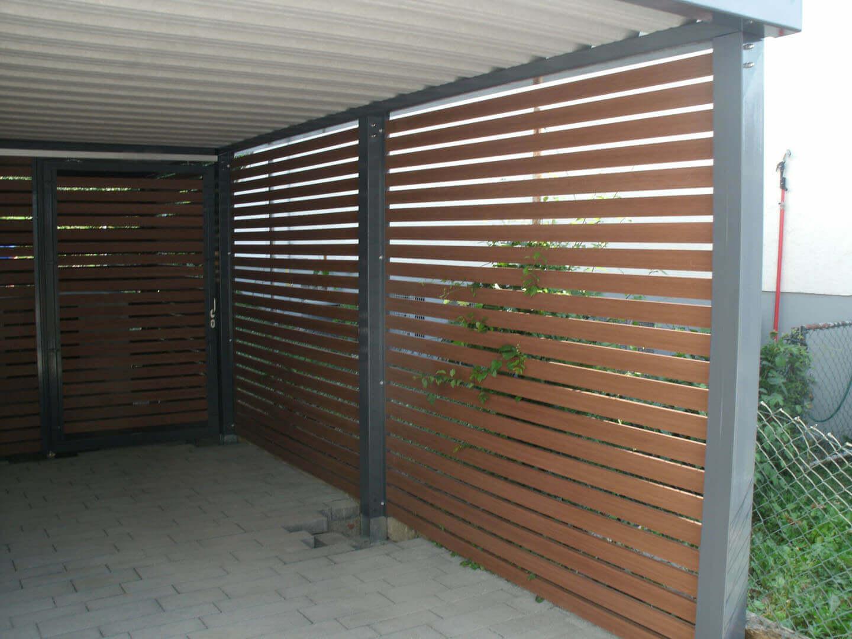 Stahlcarport / Metallcarport Referenz 28-3