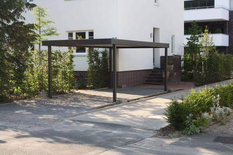 Stahlcarport / Metallcarport Referenz_37-1